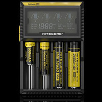 Authentic NITECORE Nitecore D4 New I2 LCD Digicharger Univer...