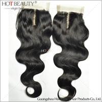Brazilian Hair virgin indian hair - Body wave quot quot Virgin Remy Brazilian Indian Peruvian Malaysian Human Hair Closure