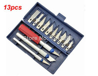 Wholesale in Hobby Knife Set Gravar Burin Carving Knife Carving Tools Set with Handles Sculpture Knife