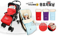 Wholesale 100 QUALITY A mary cohr bebe BABY SLEEPING BAG infant LARGE SIZE cm x cm Strollers seat sleeper sacks RED PURPLE BLUE