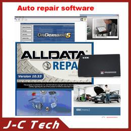 Repara coches en venta-2014 El software más nuevo de la reparación del coche Alldata 10.53 576GB + Mitchell 2013 117GB + Vivid Y así sucesivamente 7 in1 Software en 1TB HDD precio bajo