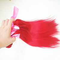Brazilian Hair Straight 204$-321$ Popular Grade 6A 100% Unprocessed Hair Brazilian Straight Virgin Hair 5 bundles lot color red #613 #27 100% Human hair Free Shipping