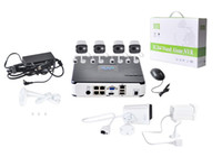 Wholesale MiiRii P IP camera outdoor POE NVR kits video surveillance plug and play and P2P cloud ip camera P POE NVR