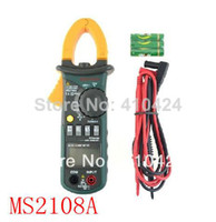Digital Only Yes Aidetek Mastech MS2108A 4000 AC DC Current Clamp Meter backlight Frq Cap CATIII vs FLUKE hol