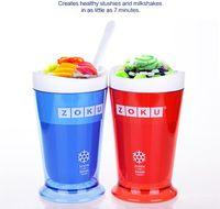 Wholesale Zoku Shop sand ice cup smoothie cup ice cream machine self restraint slush maker shake maker