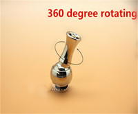 Wholesale Stainless Steel degree rotated Rotate Drip Tips Mouthpiece Metal drip tips for DCT EE2 vivi nova T3 T4 Atomizer