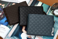 Wholesale Brand New Fashionable Men s High Quality printing Leather Wallet Pockets Card QB03