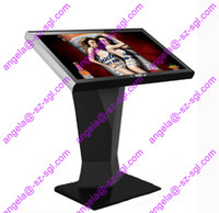 Wholesale Android System Wireless Network G Wi Fi Kiosk LCD Touchscreen Advertising Digital Signage Display can be used in the gate of a hotel