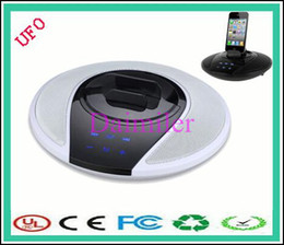 Wholesale New Arrive Mini Bluetooth Portable Wireless Speakers LoudSpeaker For Iphone S s Tablet Player Beautiful speaker UFO speaker
