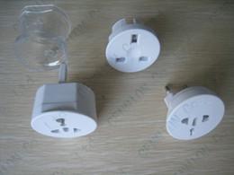 Wholesale All In One Universal Travel Power Plug Adaptor Socket Converter for US UK EU AU parts detachable convertor