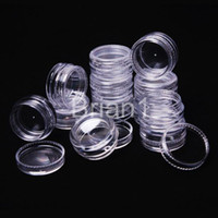 <h3 >Plastic</h3> arts plastic containers - Promotion g transparent small round bottle jars pot clear plastic container for nail art storage