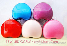 Wholesale Heart Shape W CCFL LED Light LED UV Lamp Nail Dryers With CE and ROHS Certificate