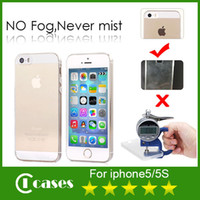 Wholesale iPhone Case mm Ultrathin Transparent TPU Soft Clear Phone Case For iPhone S S Samsung Galaxy S5 S4 S3 DHL