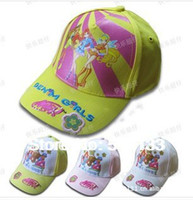 Boy Summer Ball Cap Retail Kids Cartoon Spider man MINX bucket hats baby girls fishing caps,children brim summer sun hats,toddler cap 10PCS
