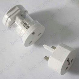 Wholesale All In One Universal Travel Power Plug Adaptor Socket Converter for US UK EU AU parts Decomposable convertor CN post