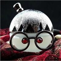 Wholesale Creative cute glasses girl ornaments Jushi car perfume car perfume car seat three colors