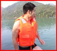 Wholesale high quality normal size life jacket life vest floatation jacket air jacket life buoy at low price