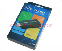 Wholesale Guantes Moto Pit Bike for Ps2 To Hdmi Converter Scaler with mm for Audio Jacket Up p Suported In Retail Package