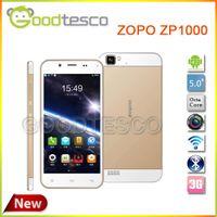Octa Core Android Lenovo Free Shipping Original ZOPO ZP1000 Ultrathin Smartphone MTK6592 Octa Core 5.0 Inch 1GB 16GB Android 4.2 OTG-Gold