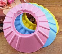 Shower Caps hair washing hat - Baby Shower wash hair Shield Hat cap Protects your baby or toddler s eyes New Hot Selling