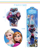 Wholesale Frozen slap watch silicone digital Watch Rubber cartoon quartz kid Jelly watch