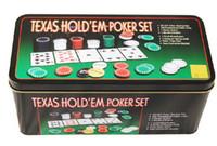 Big Kids bargain - Texas Holdem Poker Casino Gambling Game chips Bargaining chip Bar Party Games set