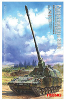 plastic model kits - Meng model TS German Panzerhaubitze Self Propelled Howitzer plastic model kit Assembled model