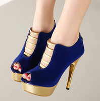 Cheap Blue High Heels