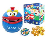 Wholesale Battery Operated Children s Interactive Cooky Game Toy Biscuits Anti theft Machine Table Game Toy