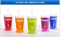 Wholesale Colorful Zoku Shop sand ice maker smoothie cup ice cream machine self restraint slush maker shake maker icecream maker Factory Offer