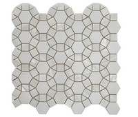 Wholesale home decoration marble mosaic tile shell mosaic tile wall decoration shell veneer marble veneer oyster mosaic wall cladding