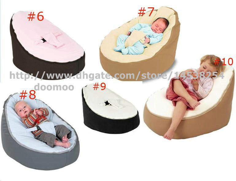 newborn babies kids toddler baby bean bags seat chair sofa bed furniturecomfortable child beanbag toddler chairs grey brown color baby chair baby bean baby kids baby furniture