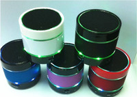 Wholesale S09 Mini Portable Wireless Bluetooth Speaker Speakers Hi Fi Music Player With LED Light Micro SD TF Mic USB Earphone