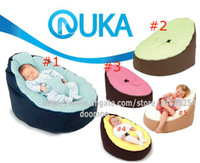 Wholesale Newborn Babies Kids Toddler Baby Bean Bags Seat Chair Sofa Bed Furniture comfortable child beanbag toddler chair colors available