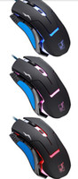 3000 Wired 3D Best Mouse 1pc 2014 New Arrive OEM Professional 6D 3200DPI LED Optical Wired Gaming Mouse for Pro Gamer Free Shipping