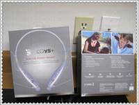 Wholesale DHL HBS Tone wireless stereo headset Bluetooth earphone HBS Colorful Neckband Tone Headphone For LG iPhone Samsung