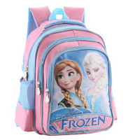 Wholesale 10pc children girl school bags frozen cartoon backpack Anna Elsa olaf school bag Z120