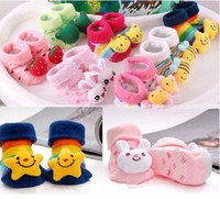 Wholesale cartoon baby kids socks children s clothing set accessories girls boys kids socks newborn infant products new born lot407