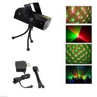 Green red and blue strobe lights - Cheap And Fine Blue Black Mini Laser Stage Lighting mW Green Red Laser DJ Party Stage Light Disco Dance Floor Lights