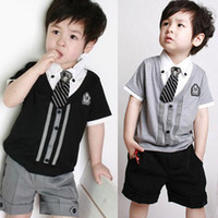 Wholesale summer children s summer suits men and foreign trade Korean boys track suit jacket pants two tide