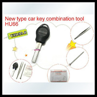 Wholesale The car key restructuring tool HU66 VW car key combination tool HU66 HU66 Auto make up key LOCKSMITH TOOL