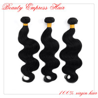 Brazilian Hair Body Wave Human Hair 6A Brazilian Virgin Hair Weaves Body Wave 3pcs Lot Unprocessed Human Hair Bundles More Wavy Free Shipping