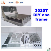 Wholesale DIY cnc T frame desktop cnc engraving machine router lathe bed with Trapezoidal screw