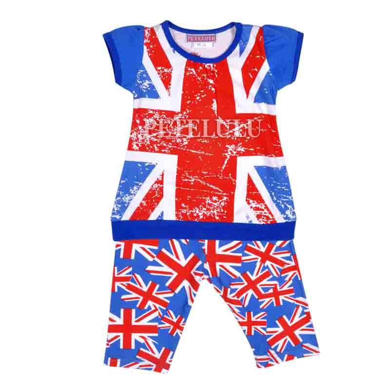 2017 Summer Clothing Sets New Fashional Baby Girls Short