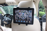 Wholesale Tablet PC Car backseat pillow holder rotation for inch Ipad Galaxy Tab GPS