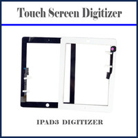 Wholesale Touch Screen Glass Lens Digitizer Fit For iPad3 rd Replacement