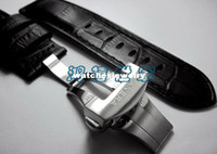 Wholesale PAM31211177390 Quality Button Butterfly BBuckle Strap For Panerai mm Leather Leather Strap Quick Delivery407