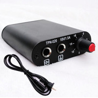 Wholesale Professional High Quality Metal Mini Tattoo Power Supply LED Aluminium Colors Available Tattoo Gun Power Supply