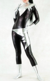 Marvel Comics Alpha Flight Aurora Superhero Costume Halloween Cosplay Party Zentai Suit