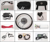 electric car kit - 48V W electric bike ebike conversion kit with Front wheel motor bicycle electric car kit with liquid crystal display